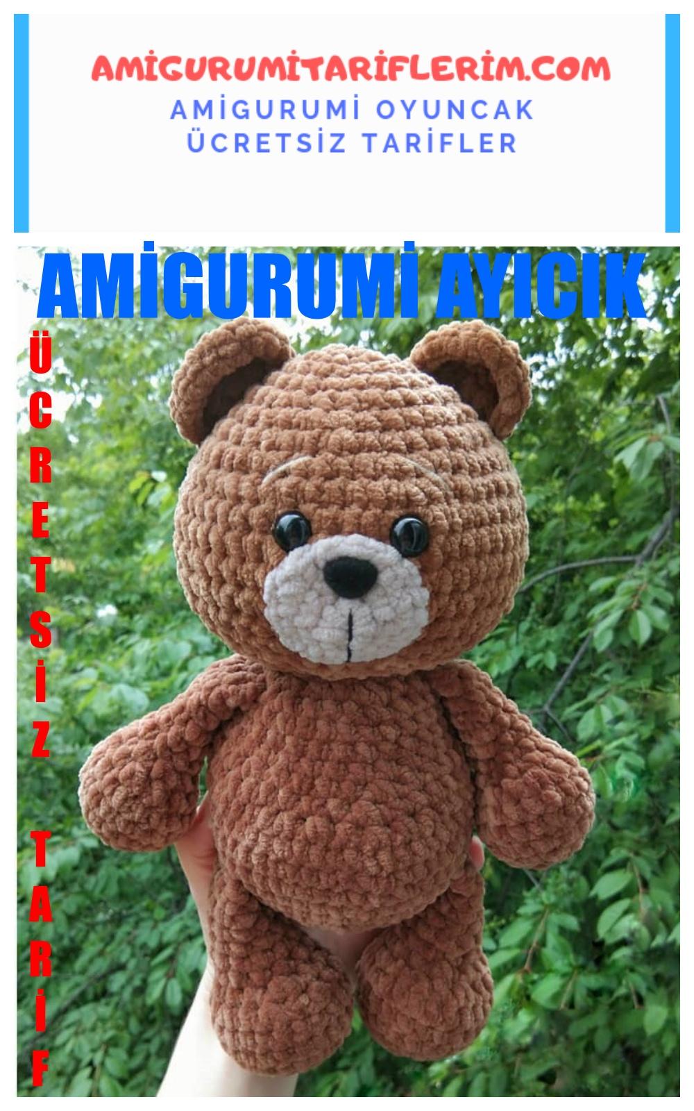 Amigurumi Bahçivan Tavşan Yapımı - Amigurumi Tariflerim Amigurumi ... | 1600x1000