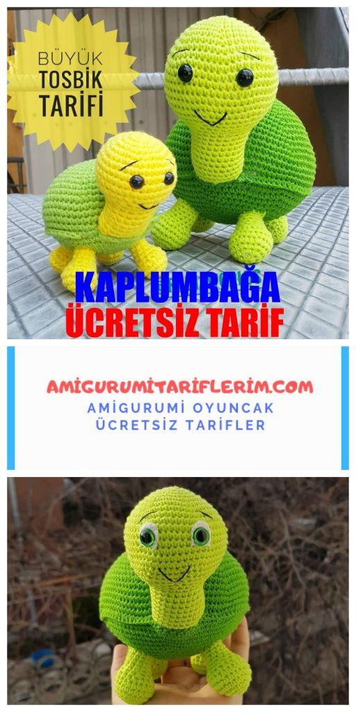 Amigurumi Kaplumbağa Oyuncak Tarifi - Amigurumi Kaplumbağa Oyuncak ... | 1024x512