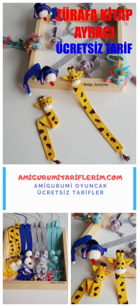 Amigurumi tilki kitap ayracı kulak yapımı ayraç nasıl yapılır fox ... | 1024x465