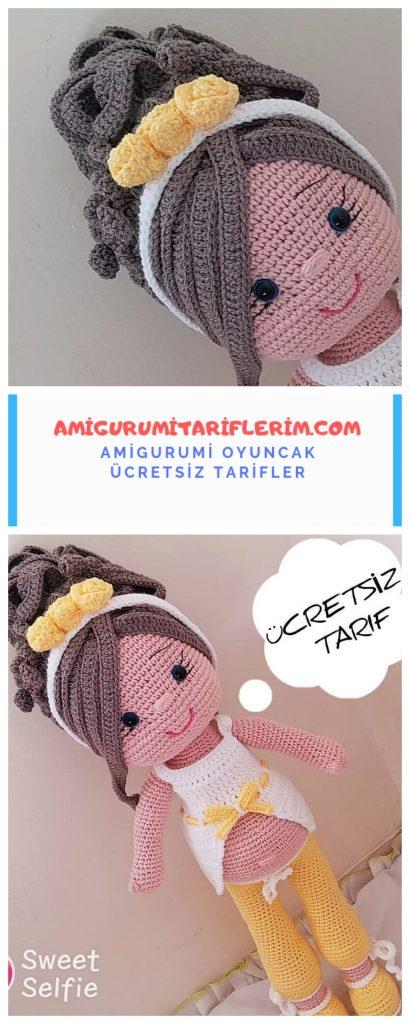 Amigurumi Zeynep Bebek Yapımı 3 (Ayak) (Gül Hanım) - YouTube | 1024x410