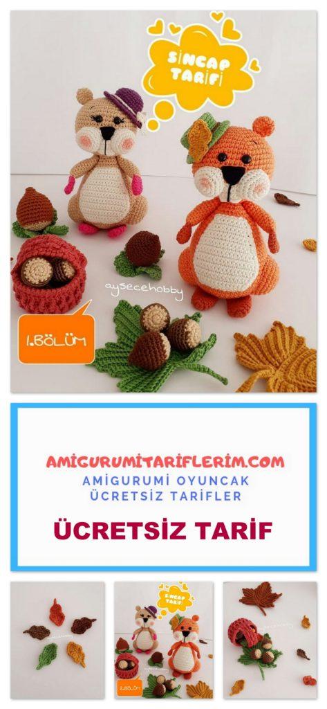 Amigurumi oyuncak bebek panosundaki Pin | 1024x473