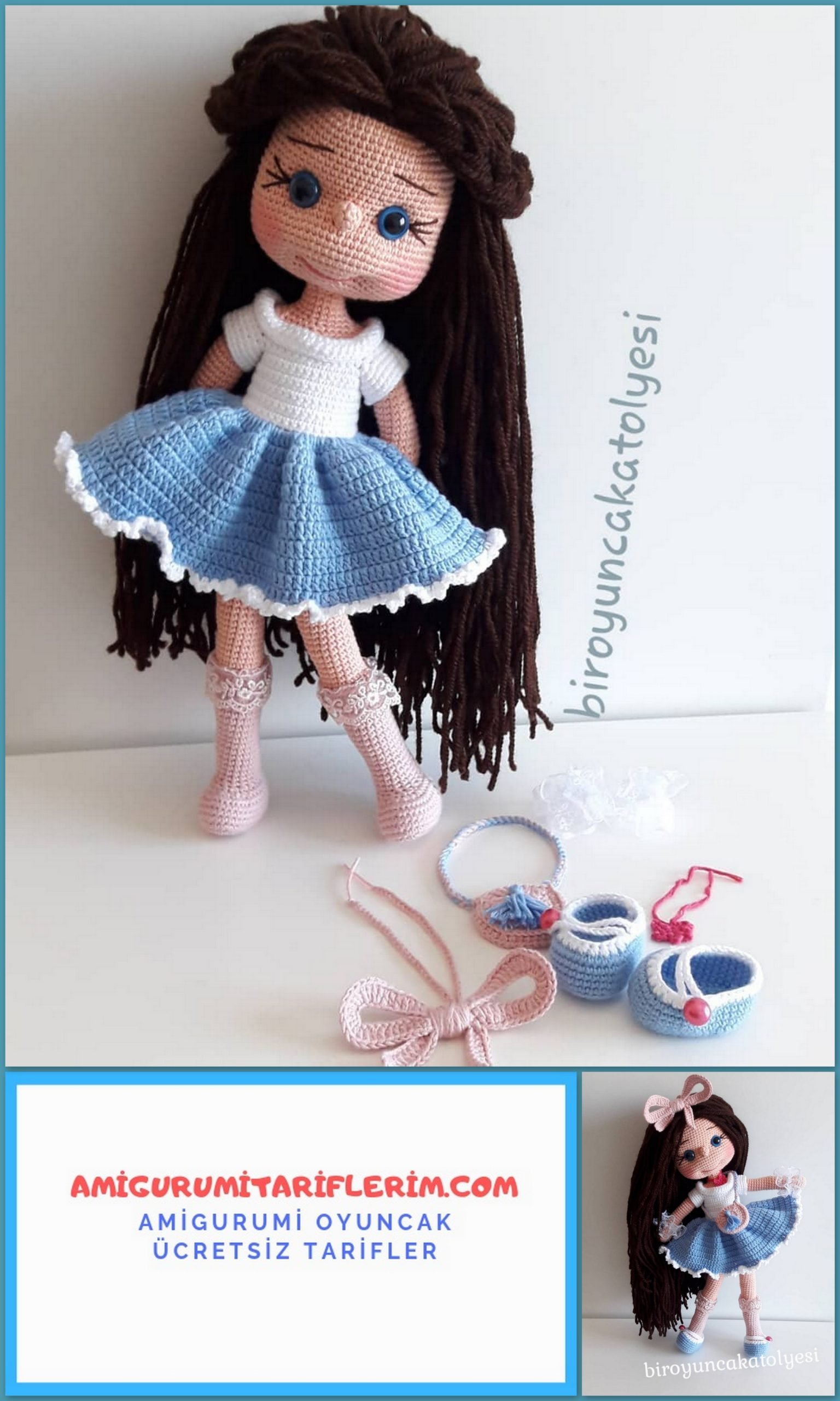 Amigurumi bebeklere kıvırcık saç nasıl yapılır? - 10marifet.org | 2560x1536