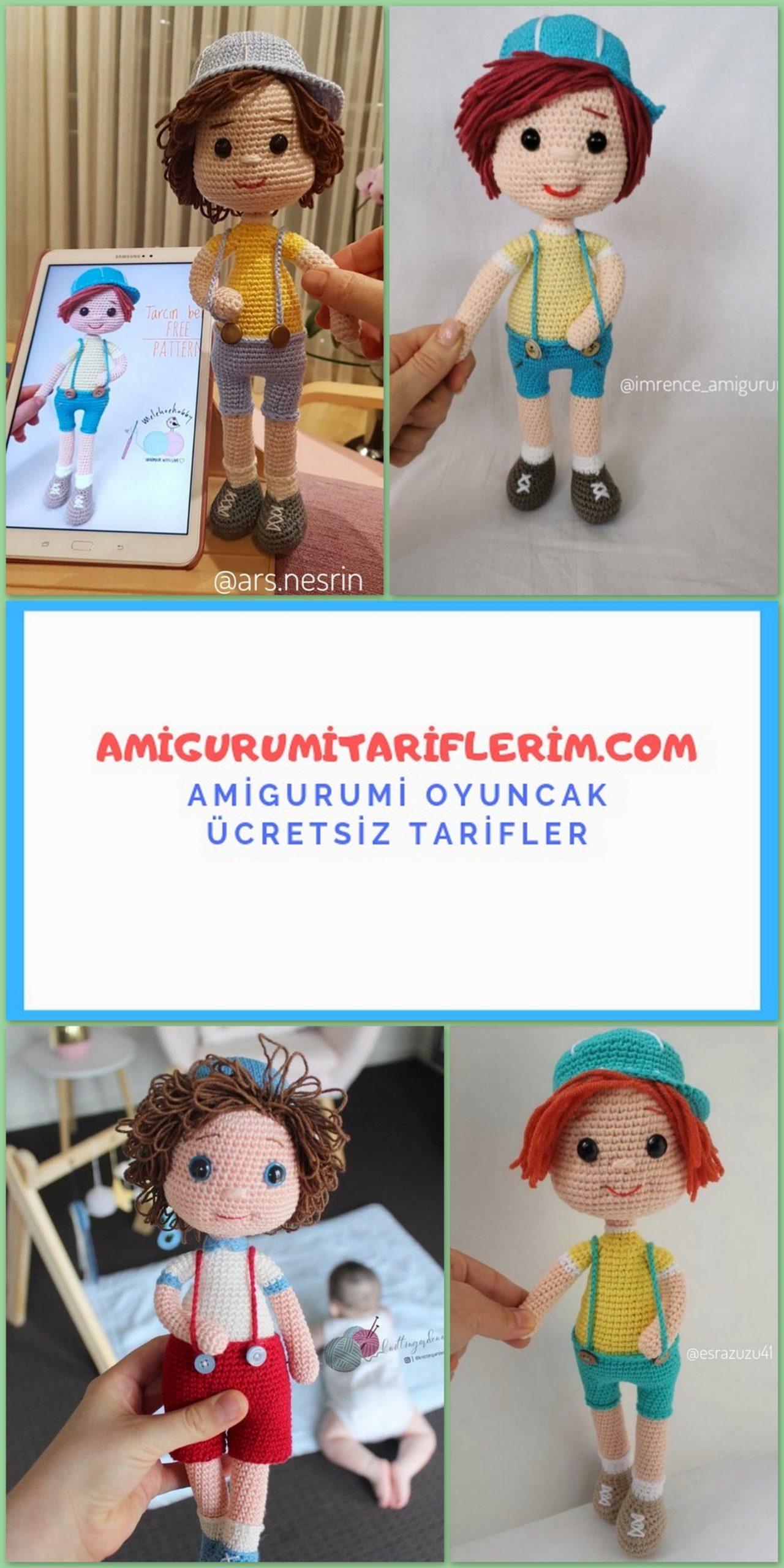 MİNİBON BEBEK TARİFİ | Handmade dolls patterns, Amigurumi ... | 2560x1280
